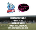 Hornets take on South Wales Scorpions