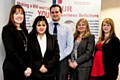 Molesworths Bright Clegg Solicitors five new associates, Lesley Rhodes, Jo Khan, Richard Mason, Joanne Astridge and Joanne Ford