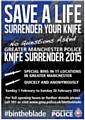 �Save a Life, Surrender Your Knife�