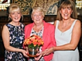 Joy Whitworth and Wendy Mills with Rochdale Woman of the Year, Joan Davies (centre)