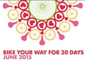 BikeMonthMcr 2015 is encouraging people to 'Bike Your Way for 30 Days'