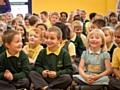 Woodland Community Primary School children