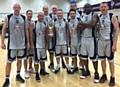 Rochdale Rockets Basketball 40 + team win British Masters Tournament 2015