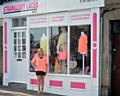 Donna Bushell outside Strawberry Laces Boutique