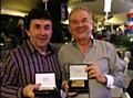 Chairman Chris Dunphy and Chief Executive Colin Garlick received long service awards from the Football League