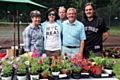 Bamford Chapel and Norden URC Garden Party<br /> The plant stall