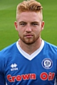 Callum Camps scored Rochdale's first goal