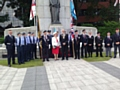 Dedication Service for Heywood�s Memorial 4 stone flags