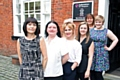 Anna Murzell, Helen O�Sullivan, Leanne Alfrey, Charlotte Peate, Eve Brandon and Maria Brierley