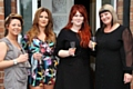The Secret Salon team - Terri Adams, Tyler Smith, Caroline Frost and Sarah Connolly