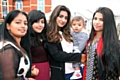 Sophia, Lubna, Humerah, Samrah and Ibrahim at the Eid family fun day