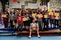 Terry �Turbo� Flanagan visits Hamer Amateur Boxing Club