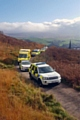 Emergency services attend a man who had collapsed on Cuckoo Hill
