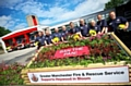 Heywood firefighters receive award from the Royal Horticultural Society