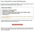 Police warning about scam email