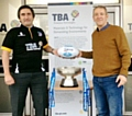 TBA General Manager, Mark Lineker with Hornets Foundation Trustee, Niel Wood