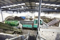 Composting in action: the in-vessel composting facility where food waste is turned into compost