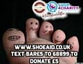 Go Shoeless for Shoe Aid