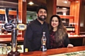 Farooq and Shefali Ahmed at JazBa, Heywood�s new spice and grill bar
