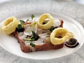 One of the Discounted Decadence dishes available at The Peacock Room is the Terrine of Rabbit and Ham Hock