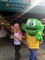 Liz McInnes taking on 10k run for Springhill Hospice
