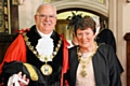 Councillor Ray Dutton and Elaine Dutton during their year as Mayor and Mayoress