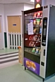 The vending machine in the children's waiting room of the A&E dept at the Royal Oldham Hospital
