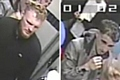 CCTV images of two men police wish to speak