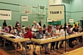Local EU Referendum count under way at Heywood Sports Village