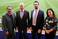Dale Chief Executive Russ Green, Dean Hulse, David Yazdi and Dale�s Sales and Marketing Manager Frances Fielding
