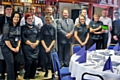 Staff from the Crown Oil Arena bars, kiosks and Quirky Catering Company
