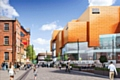 Rochdale Riverside - proposed cinema block view along Baillie Street