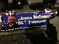 Candlelit vigil held for Josh McCormack