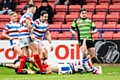Rochdale Hornets versus Halifax at the Crown Oil Arena in February