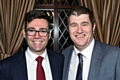 Andy Burnham with Councillor Chris Furlong