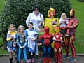 Littleborough fancy dress walk