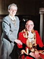 John Beasley and his wife Ann during their year of office as Mayor and Mayoress in 1994