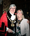 The New Mayor and Mayoress, Ian and Christine Duckworth