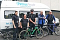 Kingsway Policing Team supporting Petrus Community Cycling Club