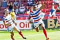Jovili Taira scored two of Rochdale Hornets tries against Bradford Bulls