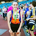Holly Murray selected for Greater Manchester at the English Schools� Athletic Championships