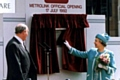 Her Majesty the Queen official opened the Metrolink network during a special ceremony on 17 July 1992