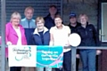 Members of Littleborough Bowling raised �900 for Alzheimer's Society.