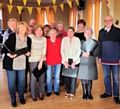 The U3A choir group