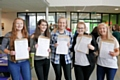 Students at Wardle Academy celebrating their results