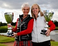 Michelle Black and Lisa Duffy - national American Golf Ladies Champions