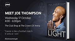 Joe Thompson is launching his autobiography � Darkness and Light: My Story