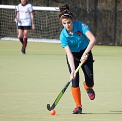 Molly Barker, one of Rochdale juniors, showing strong promise in the senior team
