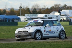 Brown enjoyed a second successful Rallycross outing