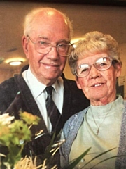 Jack with his wife, Veronica